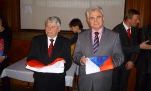 Wizyta przedstawicieli Senatu RP i RCz - fotografia Wiesław Przeczek