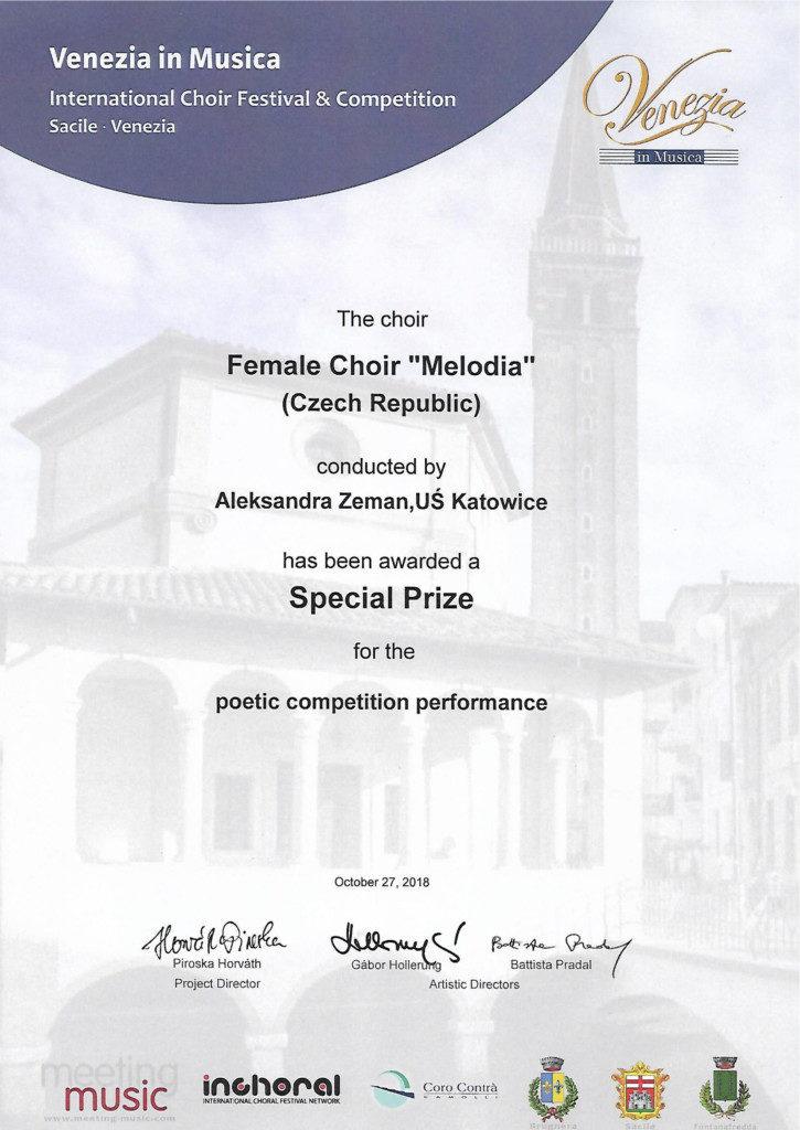 Dyplom - Nagroda Specjalna