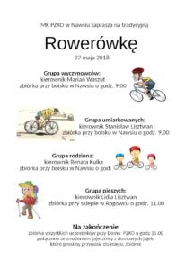 Rowerówka 2018 - zaproszenie