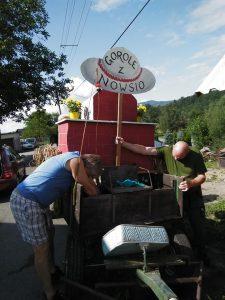 Wóz alegoryczny PZKO Nawsie na GŚ 2019